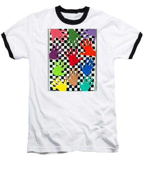 Weave #5 Hands On Baseball T-Shirt
