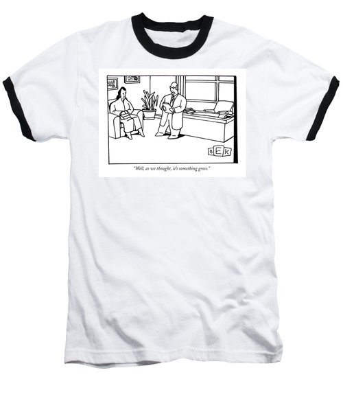 Well, As We Thought, It's Something Gross Baseball T-Shirt