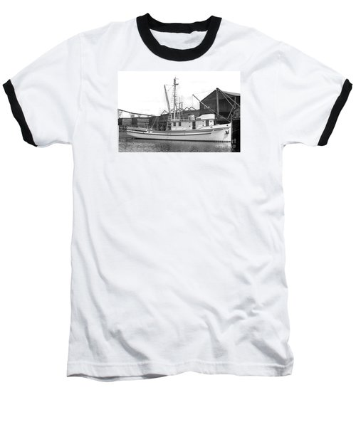 Western Flyer Purse Seiner Tacoma Washington State March 1937 Baseball T-Shirt by California Views Mr Pat Hathaway Archives