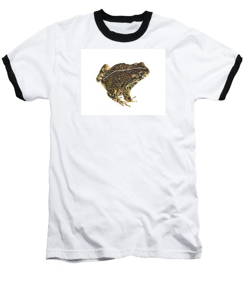 Western Toad Baseball T-Shirt by Cindy Hitchcock