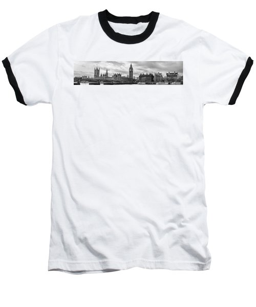 Westminster Panorama Baseball T-Shirt by Heather Applegate