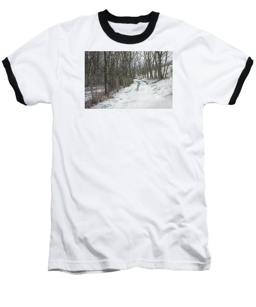 Where The Road May Take You Baseball T-Shirt by Photographic Arts And Design Studio