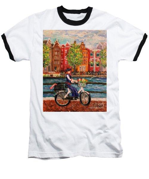 Where To ... Amsterdam Baseball T-Shirt
