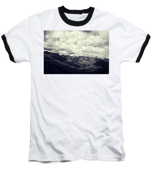 Whipped Cream Baseball T-Shirt by Leanna Lomanski