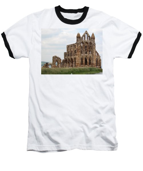 Whitby Abbey Baseball T-Shirt