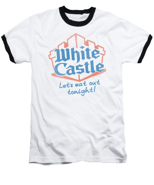 White Castle - Lets Eat Baseball T-Shirt by Brand A