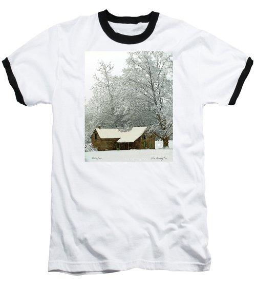 White Lace Baseball T-Shirt