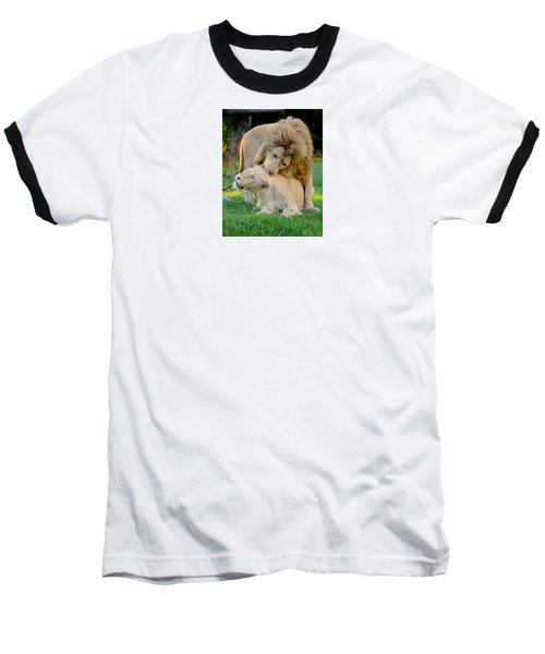 How About A Nibble My Love Baseball T-Shirt by Venetia Featherstone-Witty