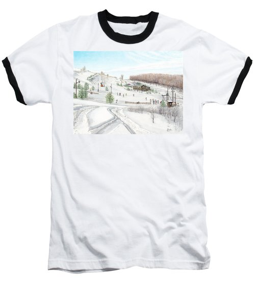 White Mountain Resort Baseball T-Shirt