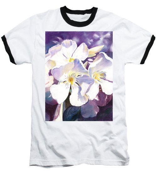 White Oleander Baseball T-Shirt