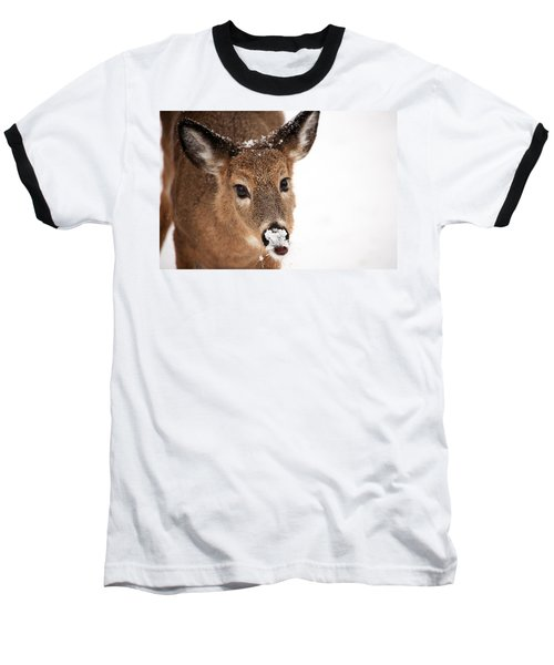 White On The Nose Baseball T-Shirt
