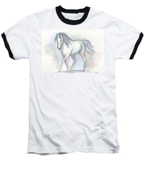 White Pony Baseball T-Shirt