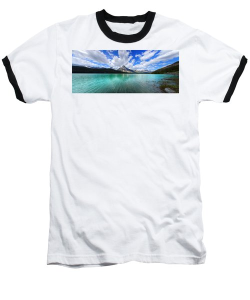Baseball T-Shirt featuring the photograph White Pyramid by David Andersen