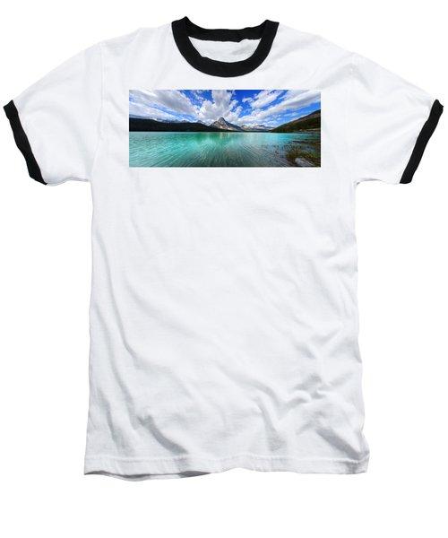 White Pyramid Baseball T-Shirt