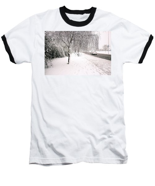 White World Baseball T-Shirt