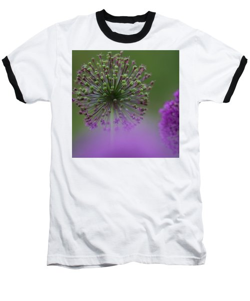 Wild Onion Baseball T-Shirt by Heiko Koehrer-Wagner