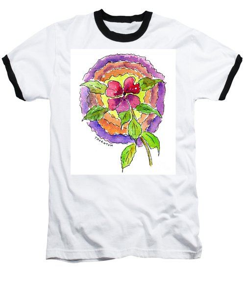 Wild Wildflower Baseball T-Shirt
