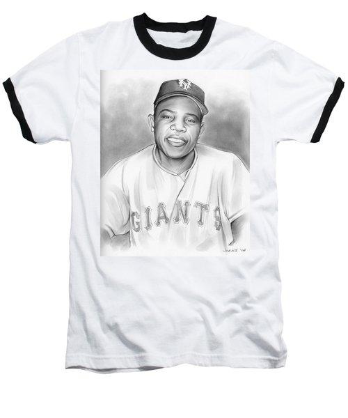 Willie Mays Baseball T-Shirt