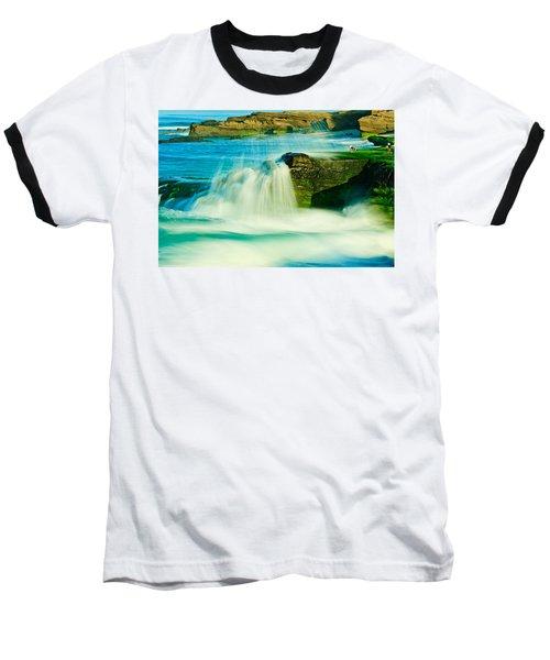 Windansea Beach 2 Baseball T-Shirt