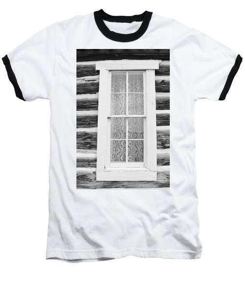Baseball T-Shirt featuring the photograph Window To The Old West by Diane Alexander