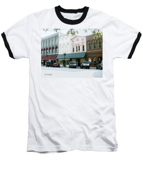 Windows On The Square Baseball T-Shirt