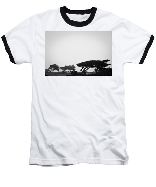 Windswept Shoreline Baseball T-Shirt