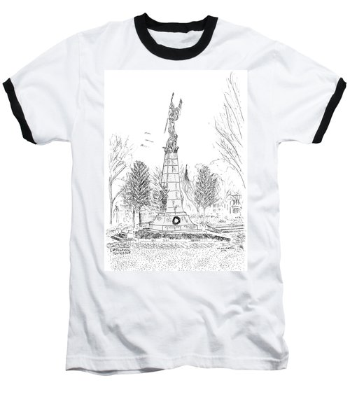 Winged Victory Baseball T-Shirt