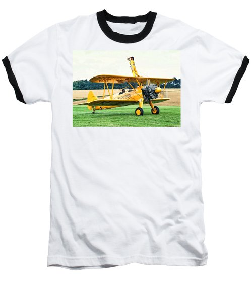 Wingwalking Baseball T-Shirt