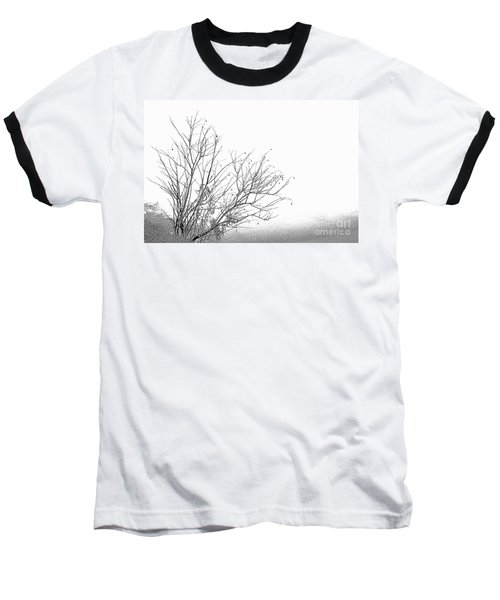 Winter Tree Baseball T-Shirt