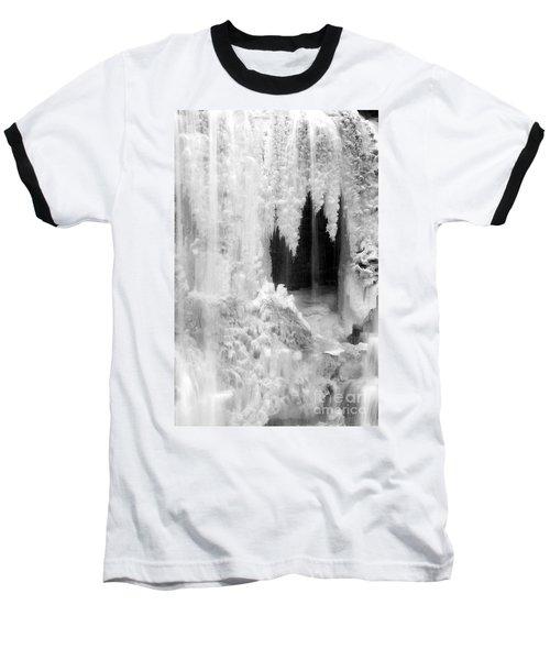 Winter Cave Baseball T-Shirt