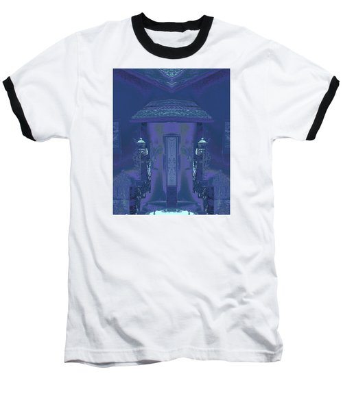 Winter Dusk Homecoming Baseball T-Shirt