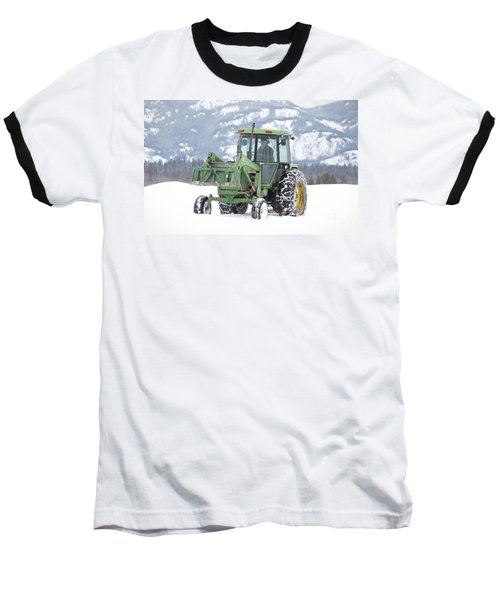 Winter Feeding Baseball T-Shirt