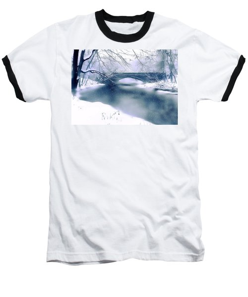 Winter Haiku Baseball T-Shirt