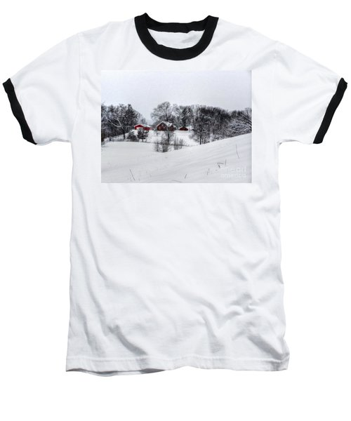 Winter Landscape 5 Baseball T-Shirt