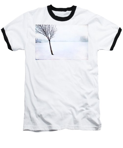 Winter Whiteout Baseball T-Shirt