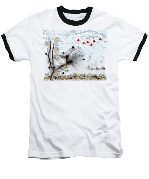 Winter Wonderland Baseball T-Shirt