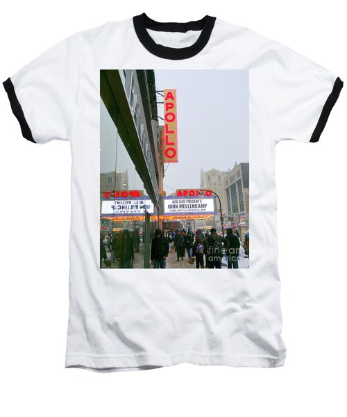 Wintry Day At The Apollo Baseball T-Shirt