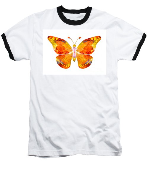Wisdom And Flight Abstract Butterfly Art By Omaste Witkowski Baseball T-Shirt