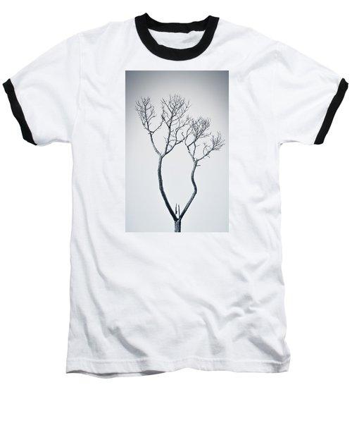 Wishbone Tree Baseball T-Shirt by Carolyn Marshall