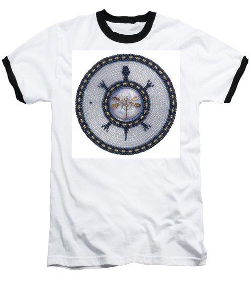 Wishing Pond Turtle Baseball T-Shirt