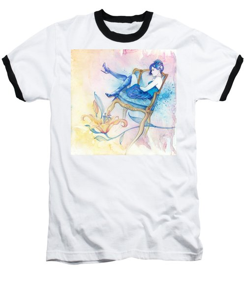 With Head In The Clouds Baseball T-Shirt
