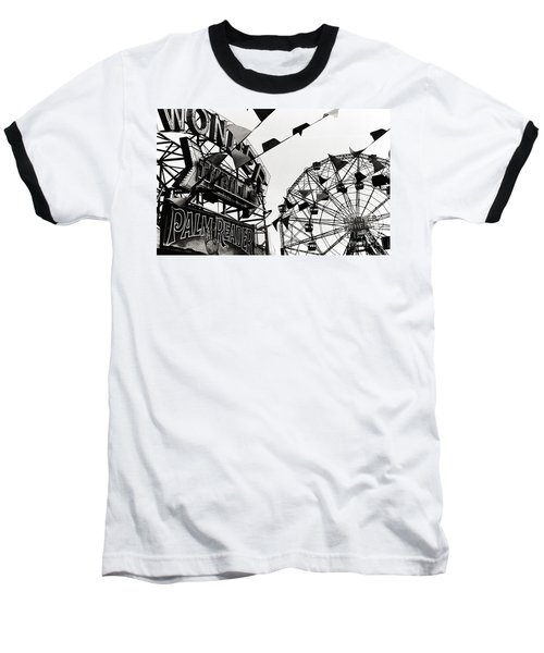 Wonder Wheel Baseball T-Shirt