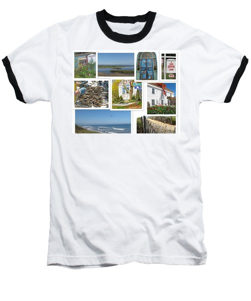 Baseball T-Shirt featuring the photograph Wonderful Wellfleet by Barbara McDevitt