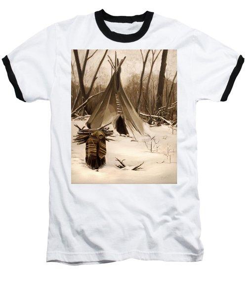 Wood Gatherer Baseball T-Shirt