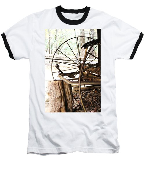 Baseball T-Shirt featuring the photograph Woody And Wheely by Faith Williams