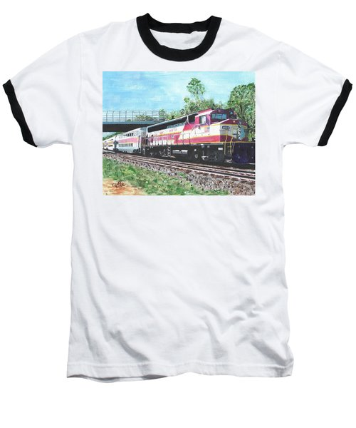 Worcester Bound T Train Baseball T-Shirt