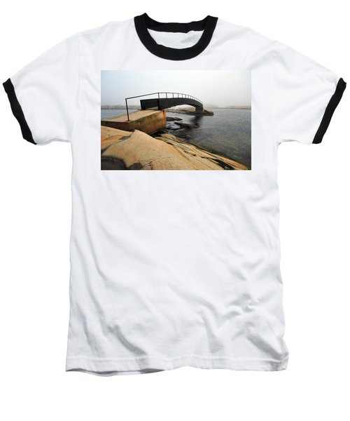 Baseball T-Shirt featuring the photograph World's End 3 by Randi Grace Nilsberg