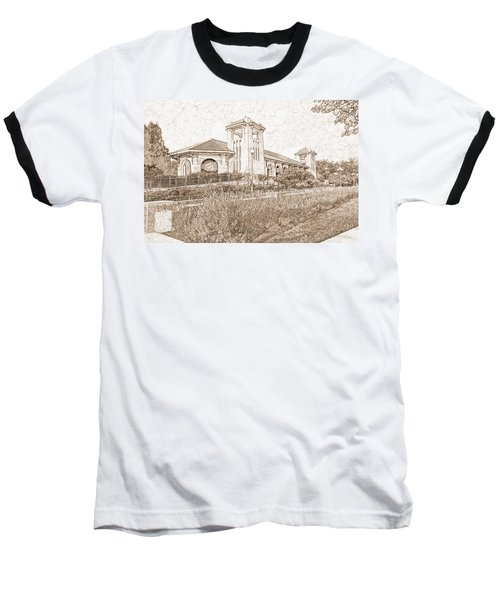 World's Fair Pavilion At Forest Park St Louis Baseball T-Shirt by Greg Kluempers
