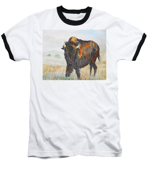 Wyoming - King Of The Prairie Baseball T-Shirt