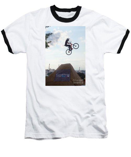 Baseball T-Shirt featuring the photograph X Games Munich 4 by Rudi Prott